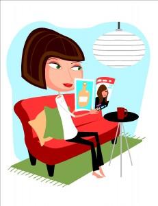 WomanReadingMagazine