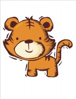 TigerCartoon Tiger Mom