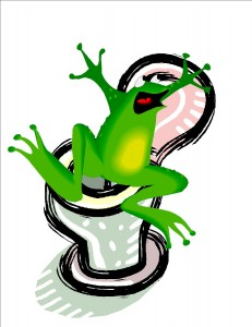How Homeschooling Is Like the Frog in the Toilet