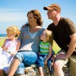 happy family homeschooling