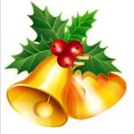 holiday Christmas bells